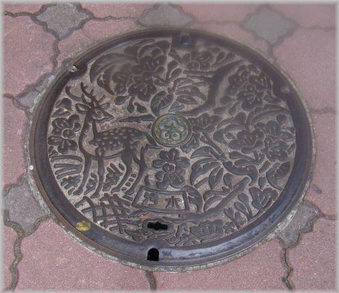 奈良マンホール