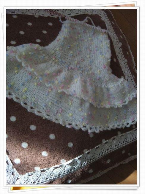 ココ編み編みワンピ