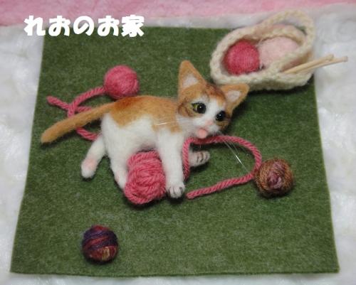 毛糸子猫1