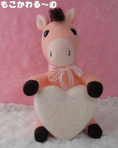 ピンク馬1