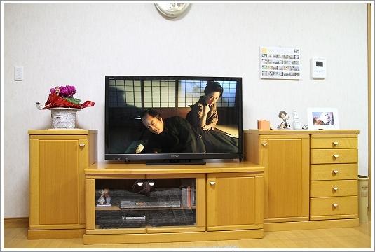 テレビ買いました4