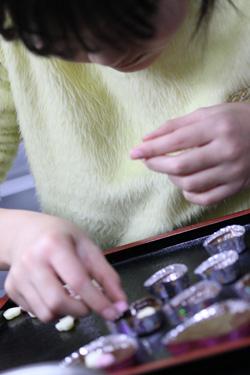 手作りバレンタインチョコレート いそべ食堂