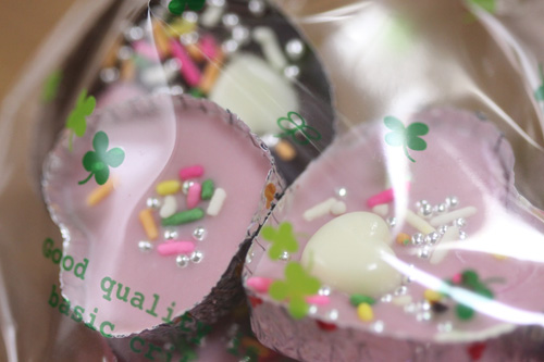娘からのプレゼント バレンタインチョコレート