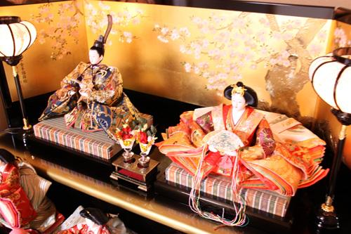 女の子のお祭り お雛様 村上市 いそべ食堂