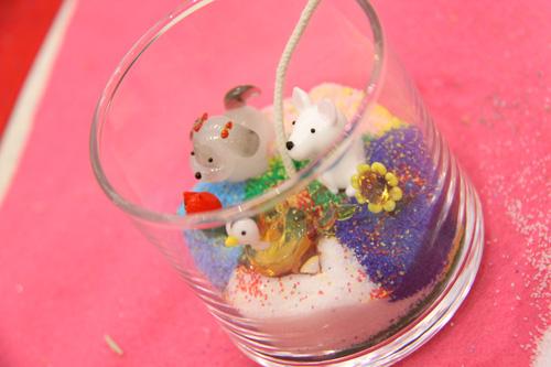 ガラス細工 キャンドル制作 いそべの休日