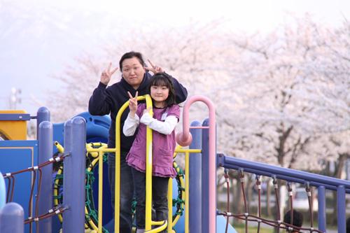 新発田市 子供が遊べる公園