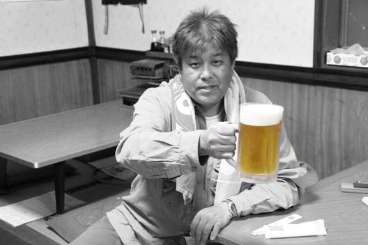 ビールCMのように・・・PhotoShopElements