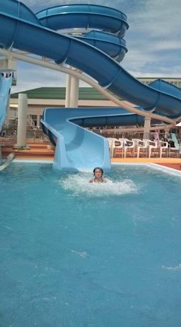 夏休み最後のお出掛け プール