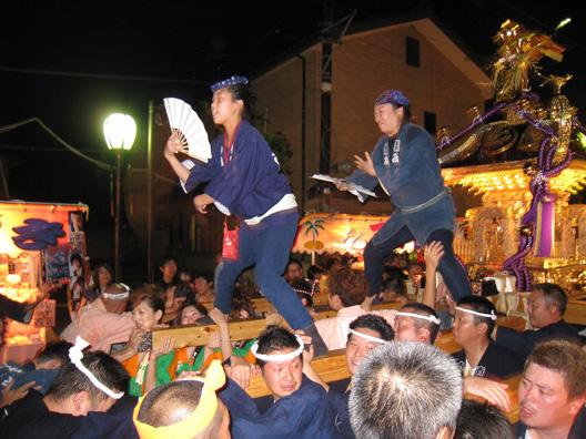 2010 中条祭り 胎内市民みこし 北粋会