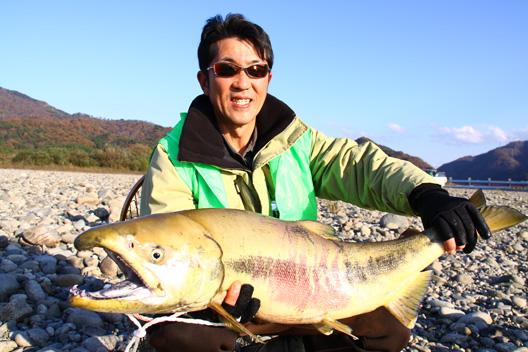 2010荒川鮭釣り 11月17日