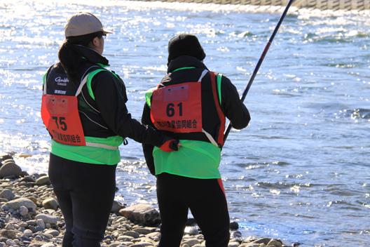 三重渓流倶楽部 荒川鮭釣り 11月22日 いい夫婦の日