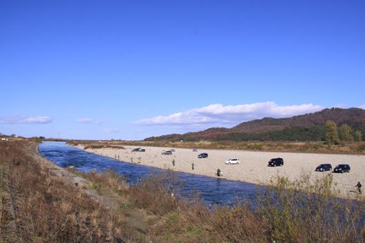2010荒川鮭釣り 11月27日
