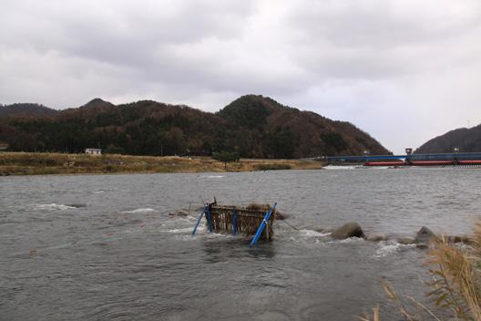 2010荒川鮭釣り 冬型強まる
