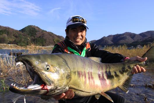 2010荒川鮭釣り11月30日