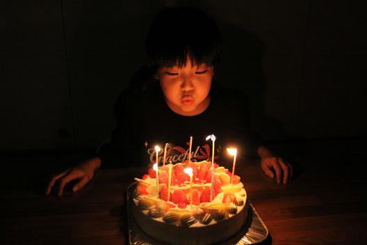 萌 9歳誕生日