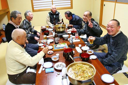 イノシシ鍋を食べる会