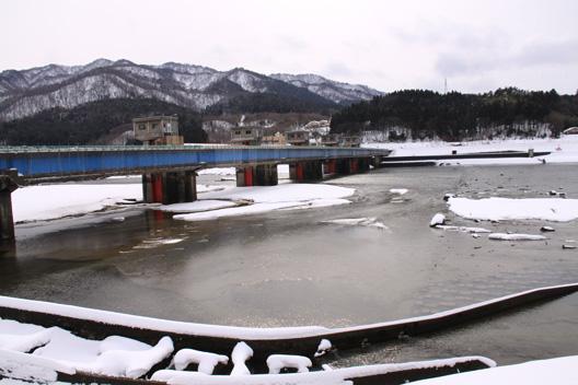 2011 新潟県 荒川 1月風景写真