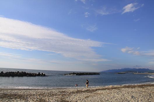 日本海側 塩谷 海水浴