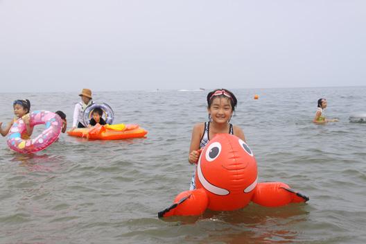 地区PTA海水浴 藤塚浜海水浴場