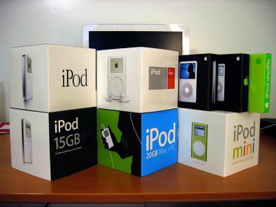 アップル iPod 箱
