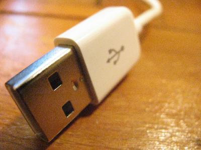 USB アップル コネクタ