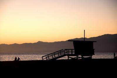 影 夕日 風景