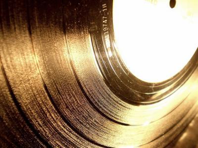レコード 黒 モノクロ ビニール