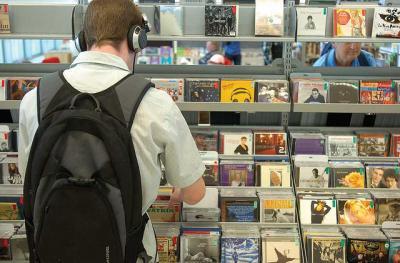 CD 棚 ライブラリー ショップ