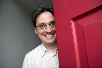 笑顔 ポートレート クレイジー ドア