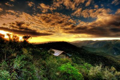 自然 風景 テント