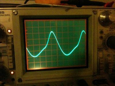 オシロスコープ 波形 機械