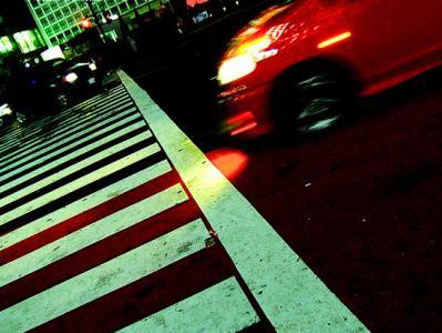 交差点 横断歩道 街