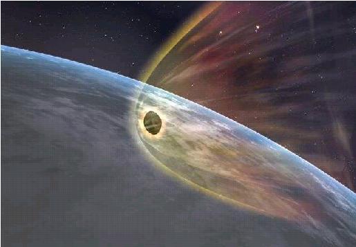 カプセル落下のイメージ