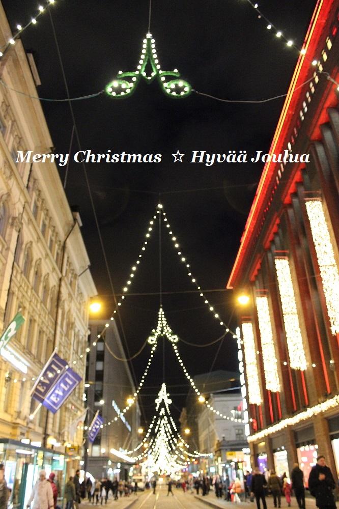 Hyvää Joulua Merry Christmas