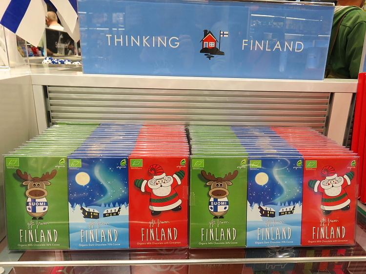 フィンランド ヘルシンキ‐ヴァンター空港 チョコ
