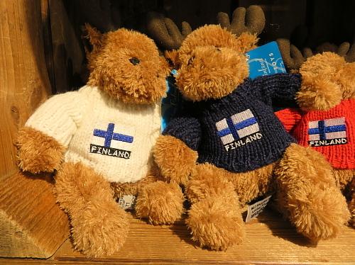 フィンランド ヘルシンキ‐ヴァンター空港 ベア ぬいぐるみ くま