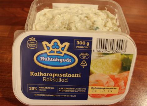 Katkarapu Salaatti