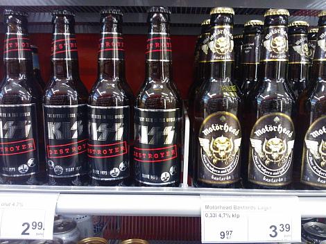 KISS Moterhead Ollut ビール