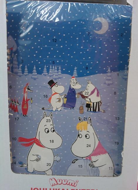 Joulu Kalenteri Muumi