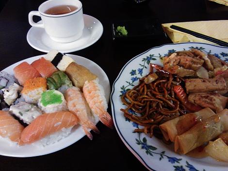Happiness Thai sushi ravintola Kaisaniemi