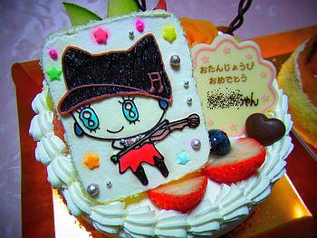 メロディっちケーキ