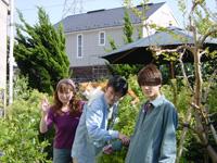 庭でー2001春ブログ