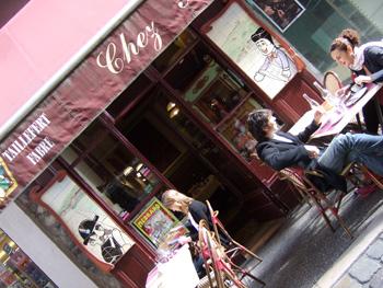 リヨンの食堂