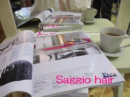 saggio hair