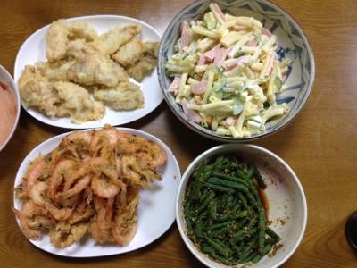 2014.1.28晩飯