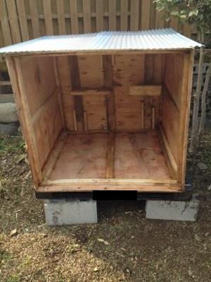 2014.2.2鶏小屋製作