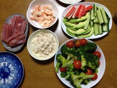 2014.2.3晩飯