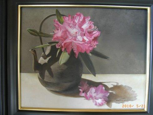 新作・石楠花