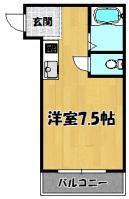 ハイツ上新第五小松(セパ6)