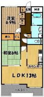 淀川パストラルコート3・5号室